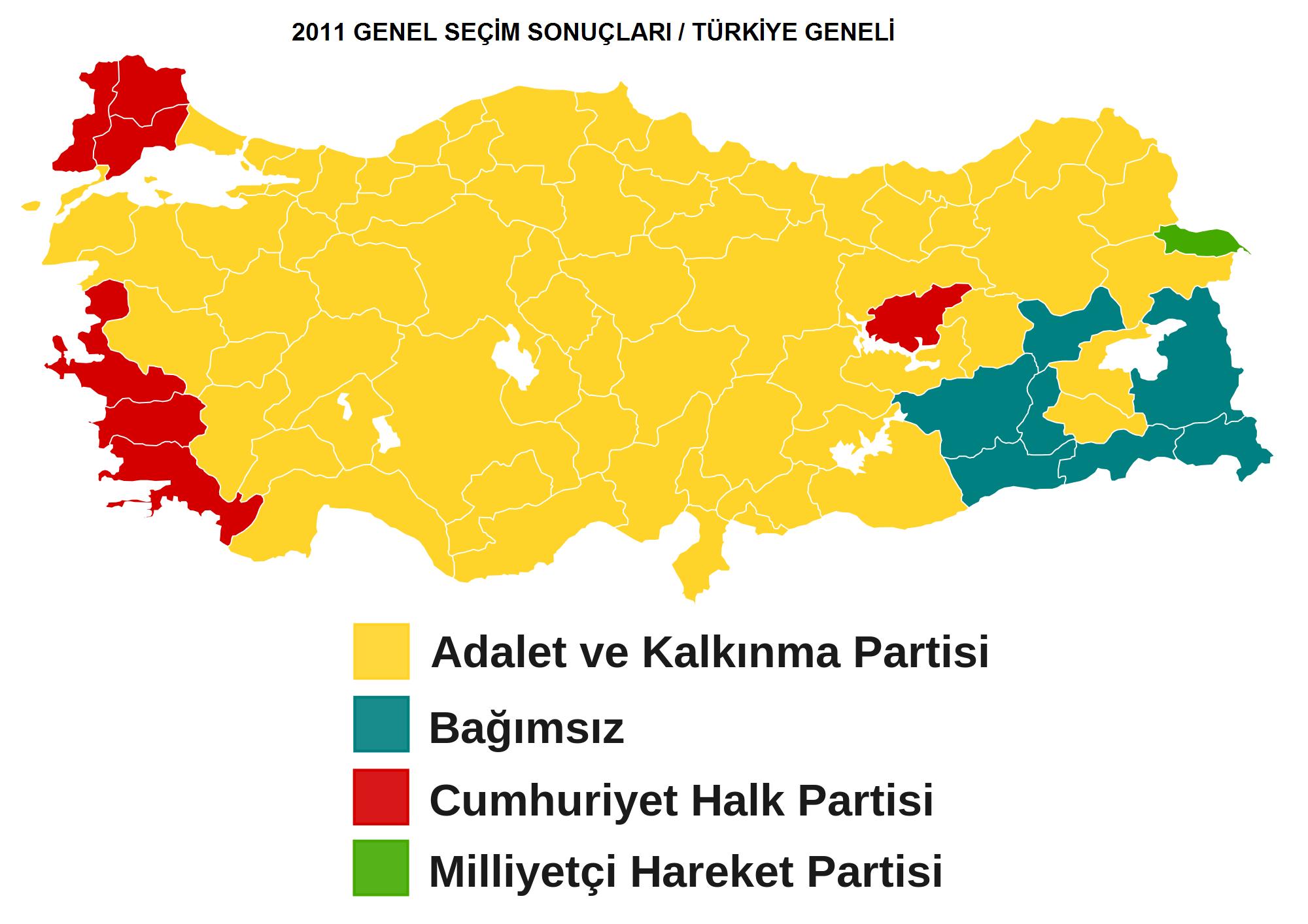 2011 Genel Seçim Sonuçları