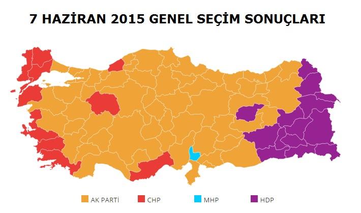 2015 Genel Seçim Sonuçları