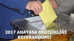 Referandum 2 Nisan'da Yapılacak İddiası!