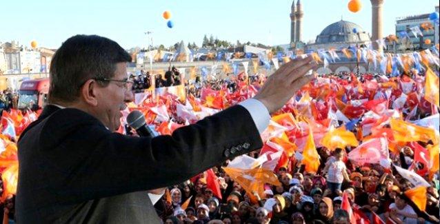 "Davutoğlu: ""AK Parti'nin oyu yüzde 47-50 bandında..."""