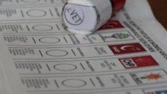 Ankara'da seçim sonuçları ! İşte son durum..