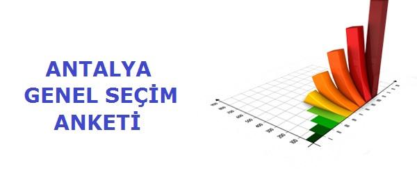 Antalya'da yapılan son anket sonucu