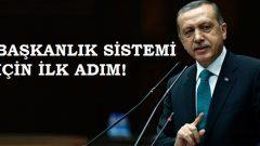 AK Parti Başkanlık Sistemi İçin Harekete Geçiyor