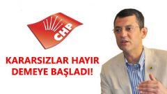 """CHP'li İsimden Çarpıcı Açıklama: """"Kararsızlar 'hayır' demeye başladı"""""""