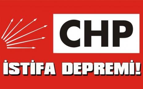 CHP'de Yeni İstifalar