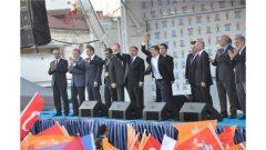 Davutoğlu Sivas Mitingi'nde Halka Seslendi