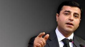 "Demirtaş: ""HDP bıçak sırtında"""