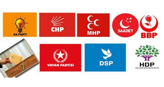Erken Seçime Hangi Partiler Katılacak? (Tam Liste)