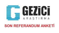Gezici Araştırma Twitter'dan Son Referandum Anketini Açıkladı!