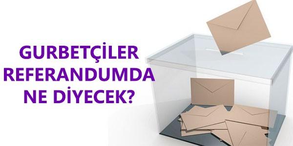 Gurbetçilerin Referandum Tercihi Ne Olacak? Adil Gür Anketi