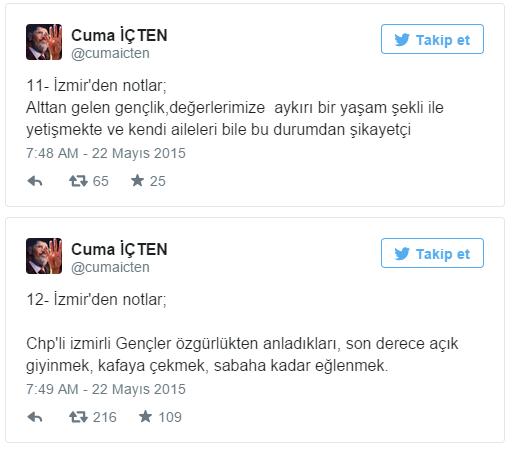 AKP'li vekil İzmirlilere Hakaret Yağdırdı!