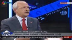 Kılıçdaroğlu'ndan HDP'nin Kanalında Şok Sözler