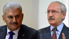"""Kılıçdaroğlu ve Yıldırım arasında """"Başkanlık"""" tartışması!"""