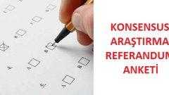 Konsensus'un Referandum Anketinde Evet mi, Hayır mı çıktı?