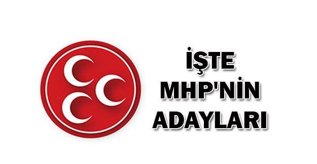 1 Kasım'da MHP'den Seçimlere Girecek Adaylar (Tam Liste)