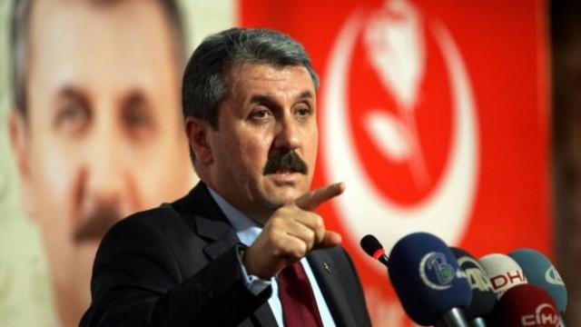Mustafa Destici Milli İttifak'ın Oy Oranını Açıkladı