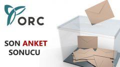 ORC'nin Son Referandum Anketinin Sonuçları