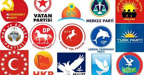 Partilerin üye sayıları arasında büyük uçurum!