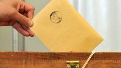 Yurtdışında genel seçimlere katılım oranı belli oldu